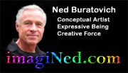 "Ned Buratovich ""Conceptual Artist"" Business Card from 2010"