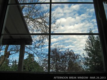 Daybreak Window Photo Series