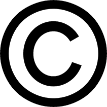 "Copyright symbol - a circle with the letter ""C"" inside"