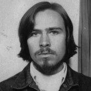 Photo booth photo of Ned, taken around 1973
