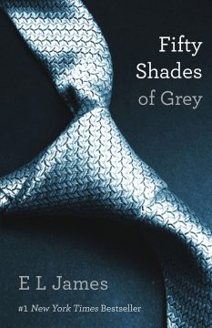 """The """"Fifty Shades of Grey"""" original book cover."""