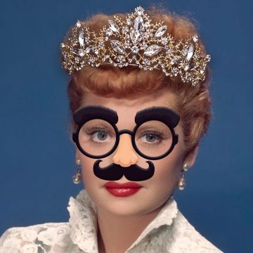Lucy in Disguise with Diamonds